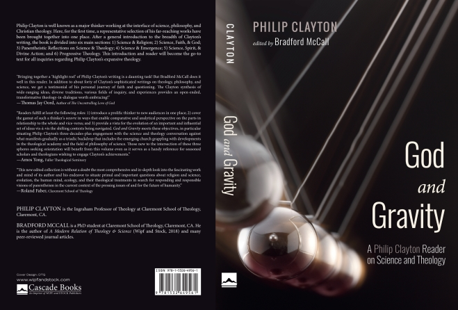Clayton.GodandGravity Cover